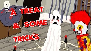 A Treat and Some Tricks - Halloween Night? NO PROBLEM! (Full Playthrough) Manly Let