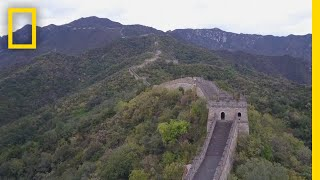 See China's Iconic Great Wall From Above | National Geographic