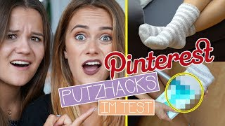 Die besten Pinterest PUTZHACKS im TEST - Top oder Flop? | SNUKIEFUL