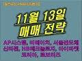 11월 13일 매매전략  비에이치, ...mp3