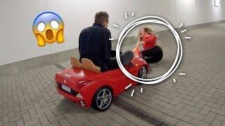 Bibi mit Ferrari angefahren !! 😱🚘 | Julienco