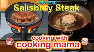 Improved Salisbury Steak | Cooking with Cooking Mama! + Face Reveal!