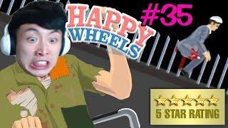 HAPPY WHEELS Highlights: 喜歡磨柱的大男人 #35