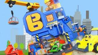 BOB DER BAUMEISTER: Bagger Kran Lastwagen Baustelle Kinderfilm | BOB THE BUILDER deutsch für KINDER