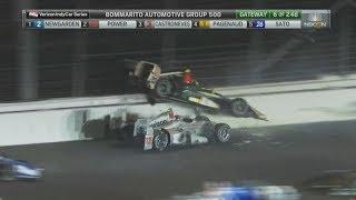 IndyCar Series 2017. Gateway Motorsports Park. Start Big Crash