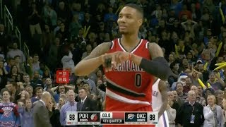 The Day Damian Lillard Showed The Entire World IT