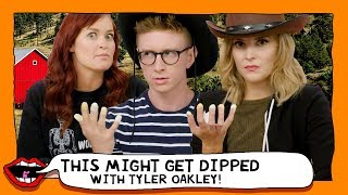 TAKING A DIP ft. Tyler Oakley with Grace Helbig & Mamrie Hart