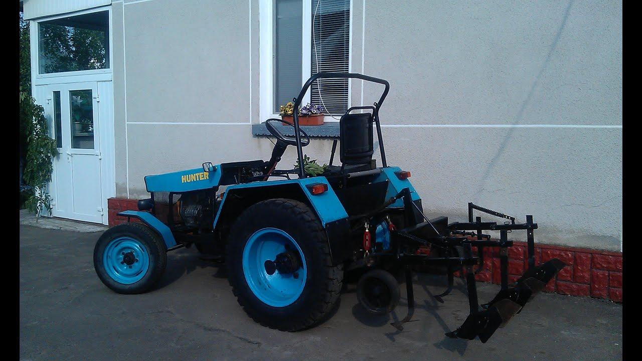 Как сделать большой трактор своими руками