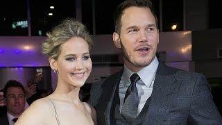 Jennifer Lawrence & Chris Pratt LEAVE Interview After Awkward Sex Question