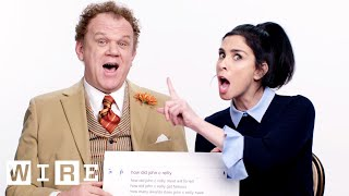 Sarah Silverman & John C. Reilly Answer the Web