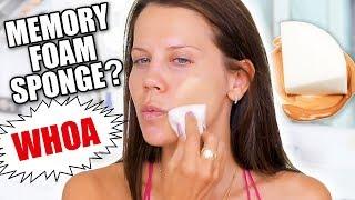 MEMORY FOAM MAKEUP SPONGE | Better than Beauty Blender
