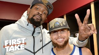 Stephen A.: Steph Curry and KD the 4th-best NBA duo of all time | First Take