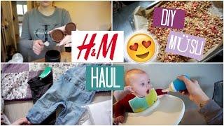 FAMILYVLOG ❘ H&M Bestellung ist da! 📦🤗❘ MsLavender