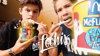DieLochis Eis probiert! (mit Ben) | Oskar