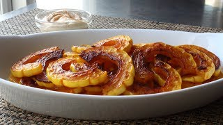 Delicata Squash - How to Prep and Cook Delicata Squash - Healthy Holiday Snack