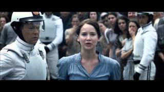 The Hunger Games: Katniss and Peeta Reaping Scene [HD]