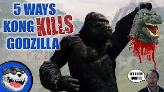 3 Ways Kong will KILL Godzilla!