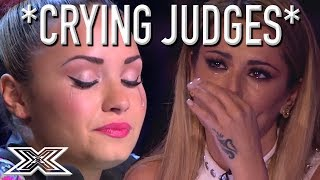 SUPER EMOTIONAL Auditions Have X Factor Judges In TEARS! *CRYING JUDGES*