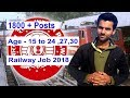 Railway Vacancy Out 1800 Posts 2018 Fema...mp3