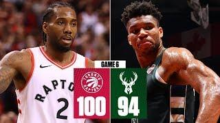 Kawhi Leonard fuels Raptors past the Bucks for 1st ever NBA Finals   2019 NBA Playoff Highlights