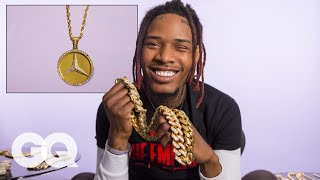 Fetty Wap Shows Off His Insane Jewelry Collection | GQ