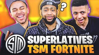 TSM Fortnite talks Girls, Pranks, Rapping, and More! | Superlatives