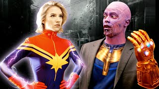 IF MARVEL CHARACTERS WERE REAL