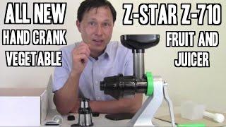 Z-Star Juicer Z-710 Wheatgrass, Fruit & Vegetable Manual Juicer
