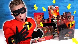 INCREDIBLES 2 Movie Gear Test & Toys Review for Kids!