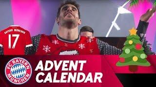 Pantomime w/ Javi Martínez | FC Bayern Xmas Advent Calendar #17