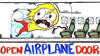 What If Your Airplane Door Burst Open Mid-Flight?