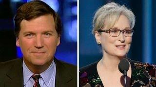 Tucker Carlson responds to Meryl Streep:
