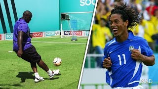 Akinfenwa attempts to recreate Ronaldinho