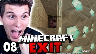 DER DIAMANTEN-REGEN! ✪ Minecraft EXIT #08 | Paluten [Deutsch]
