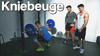 Kniebeuge (Highbar) - Richtige Technik und Übungsausführung | Johannes Kwella & TheTysonFitness