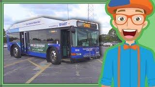 Bus Videos for Children by Blippi | Educational Videos for Kids