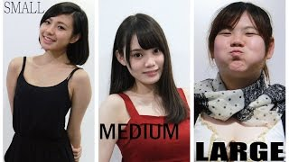 細, 中, 大碼 女孩 -S,M,L Girls (Small, Medium, Large Girls)