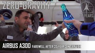 "Zero G flight March 26, 2014 - Farewell  Airbus A300 ""ZeroG"" of Novespace"