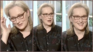 Meryl Streep On Her Biggest Regret In Life...