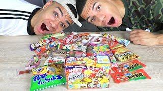 Süßigkeiten Test - JAPAN !!! | PrankBrosTV
