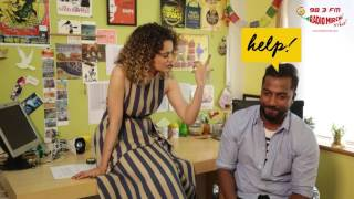 Kangana Ranaut chooses between sex & sleep | Selfie 21 with RJ Suren | Rangoon