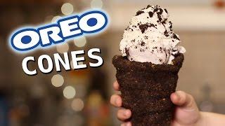 DIY Oreo Cookie Cones