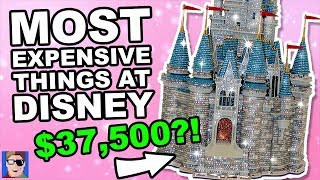Most Expensive Things At Disney | GAME