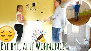 Franz verzweifelt! | Wir geben unsere alte Wohnung ab... | Umzugsvlog #11