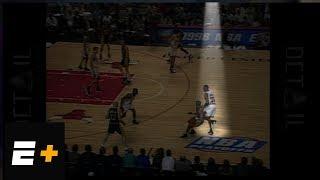 Kobe Bryant analyzes film of Scottie Pippen