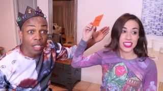 Diva Throat Charades Challenge w/ Colleen Ballinger!