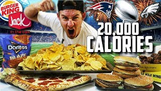 THE FAST FOOD SUPERBOWL FEAST! (20,000+ CALORIES)