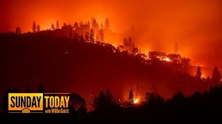 California Wildfire Death Toll Rises To 25 As Winds Set To Pick Up | Sunday TODAY