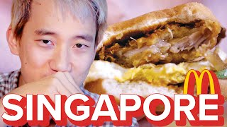 Americans Try Singapore McDonald