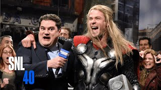 Avengers News Report - SNL